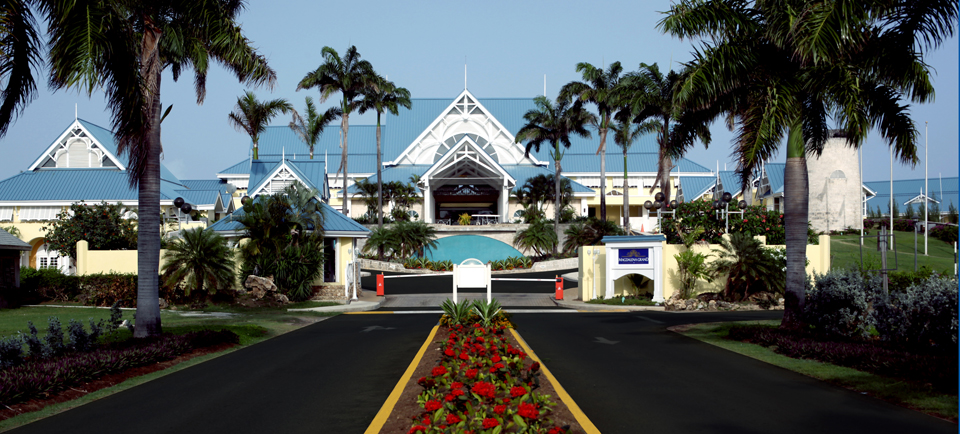 Entrance of Resort
